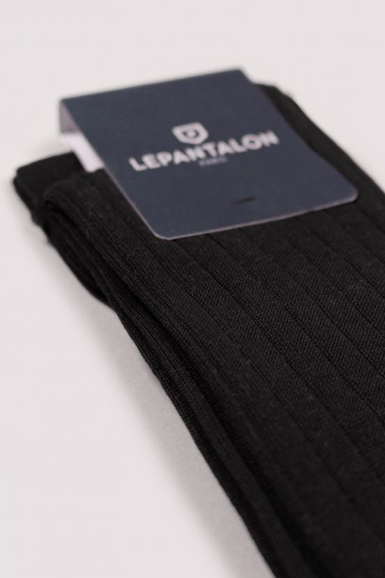 Chaussettes Longues Noires
